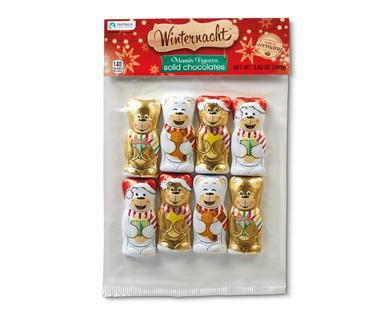 Winternacht Solid Chocolate Bears