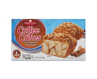 Baker'sTreat Cinnamon Streusel Cakes