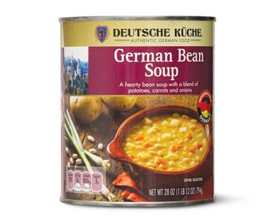 Deutsche Kuche German Bean Soup