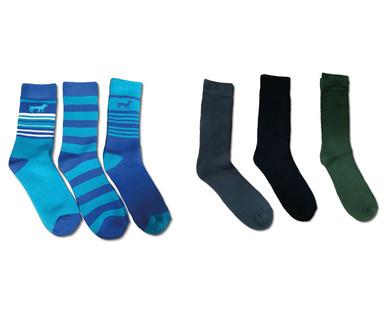 Adventuridge Ladies' or Men's 3 Pair Outdoor Socks View 1
