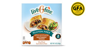 liveGfree Gluten Free Southwest Veggie Stuffed Sandwiches