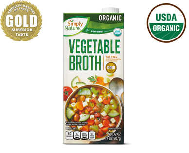 Simply Nature Organic Vegetable Broth