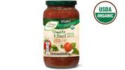 Simply Nature Organic Tomato Basil Pasta Sauce