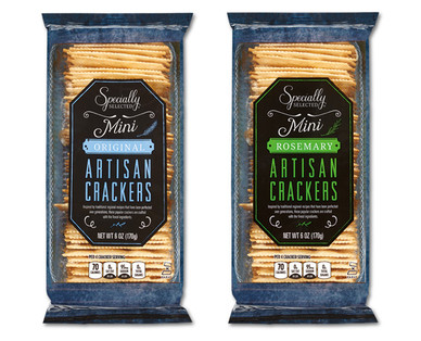 Specially Selected Artisan Crackers Original or Rosemary