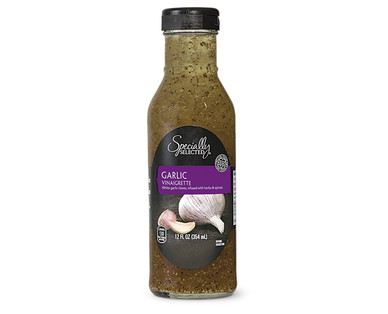 Specially Selected Gourmet Garlic Vinaigrette Dressing