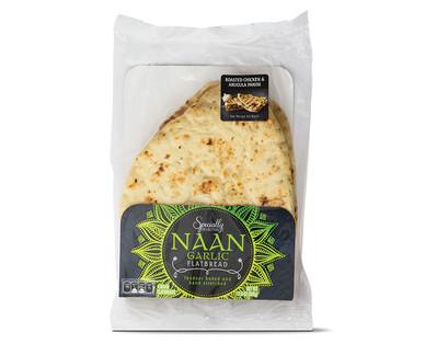 Specially Selected Garlic Naan Bread
