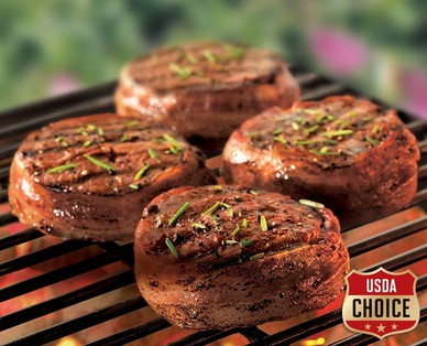 Cattlemen's Ranch USDA Choice Bacon Wrapped Beef Chuck Tender Filet