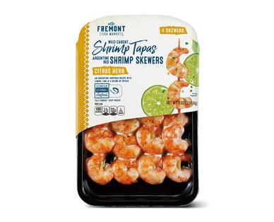 Fremont Fish Market Citrus Herb Wild Argentine Shrimp Skewers