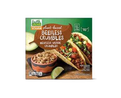 Earth Grown Beefless Crumbles or Chickenless Strips View 1