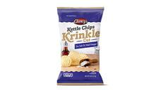 Clancy's Sea Salt & Malt Vinegar Krinkle Cut Kettle Chips