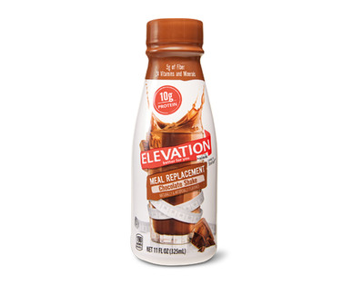 Elevation by Millville Chocolate Meal Replacement Shakes Single Bottle