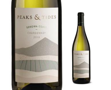 Peaks & Tides Sonoma Coast Chardonnay
