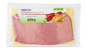 Fit & Active® Smoked & Cured Turkey Bacon