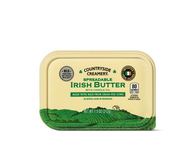 Countryside Creamery Spreadable Irish Butter with Canola Oil