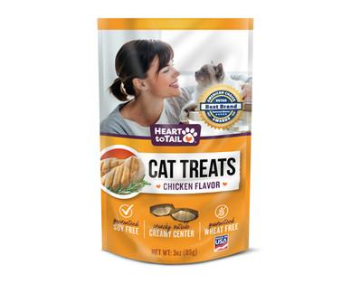 Heart To Tail Cat Treats - Chicken