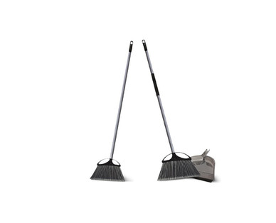 Easy Home 3-Pack Indoor/Outdoor Brooms with Dustpan View 1