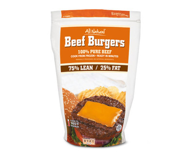 75/25 Ground Beef Patties