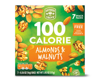 Southern Grove 100 Calorie Almonds & Walnuts