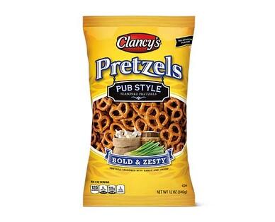 Clancy's Pub Style Seasoned Pretzels