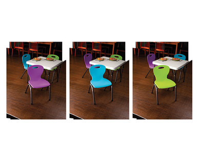 Easy Home Kids' Stacking Chairs View 4