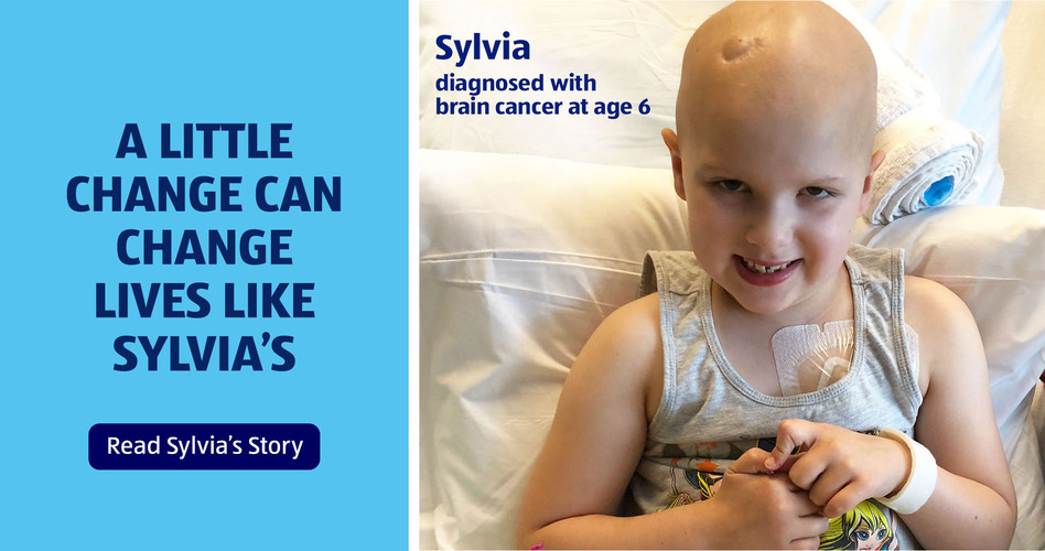 A little change can change lives like Sylvia's. Read Sylvia's Story.