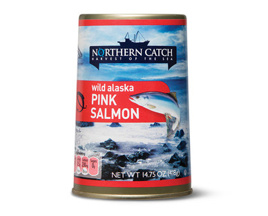 Northern Catch Pink Salmon