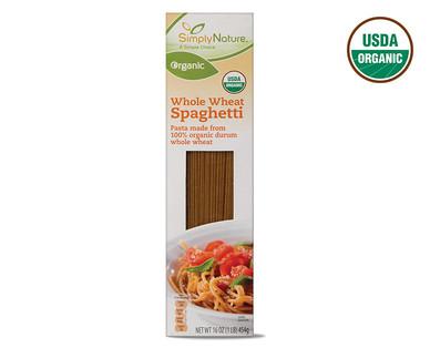 SimplyNature Organic Whole Wheat Spaghetti