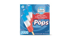 Sundae Shoppe Red, White & Blue Pops