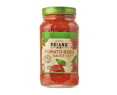 Priano Gourmet Tomato Basil Pasta Sauce