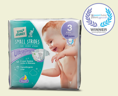 Little Journey Size 3 Diapers
