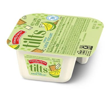 Friendly Farms Tilts Key Lime Crunch Greek Yogurt