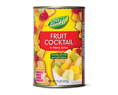 Sweet Harvest Fruit Cocktail In Heavy Syrup
