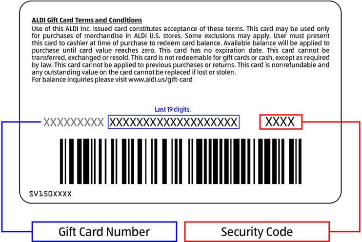 Aldi Us Gift Card Balance