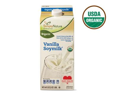 Organic Vanilla Soymilk