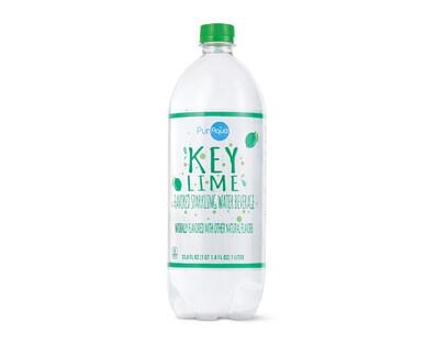 PurAqua Key Lime Sparkling Water