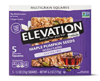 Elevation by Millville Maple Pumpkin Seeds Multigrain Squares