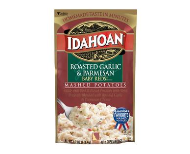 Idahoan Roasted Garlic & Parmesan Flavored Mashed Potatoes