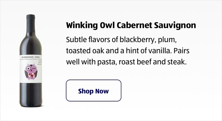 Winking Owl Cabernet Sauvignon. Shop Now