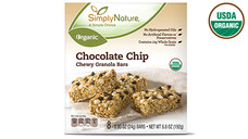 Simply Nature Organic Chocolate Chip Chewy Granola Bars. View Details.