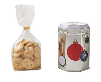 Holiday Music Tins with Cookies View 3