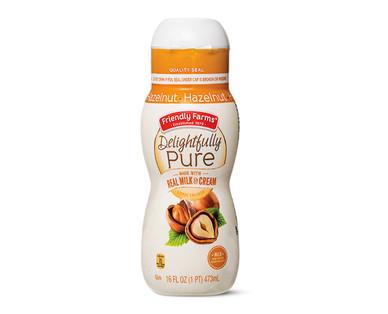 Friendly Farms Delightfully Pure Hazelnut Creamer