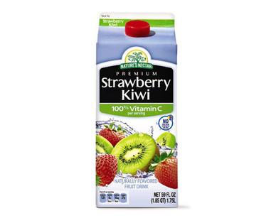Nature's Nectar Strawberry Kiwi Juice