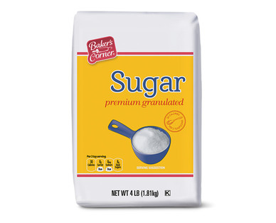 Baker's Corner 4 lb. Granulated Sugar