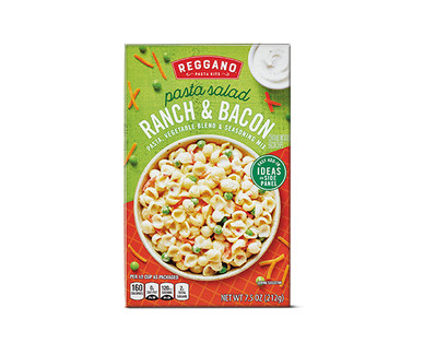 Reggano Pasta Salad Kits Ranch and Bacon