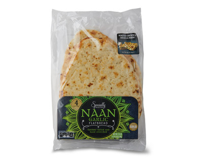 Specially Selected Garlic Naan Bread