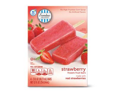 Sundae Shoppe Strawberry Fruit Bars