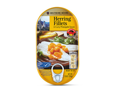 Deutsche Küche Herring Fillets in Flavour View 1