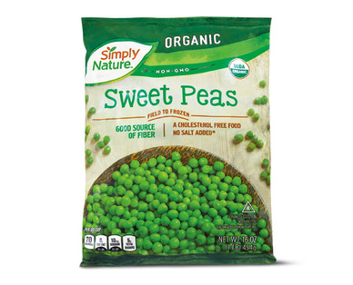 Simply Nature Organic Sweet Peas