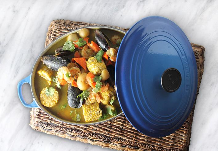 Cilantro Lime Seafood Stew