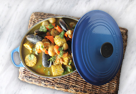 Cilantro Lime Seafood Stew